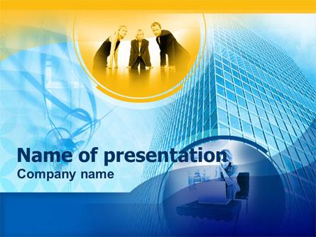 Office Staff Presentation Template, Master Slide