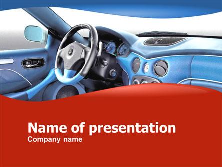 Car Design Presentation Template, Master Slide
