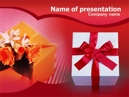 Present Box Presentation Template, Master Slide