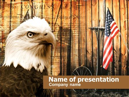 Patriotic Presentation Template, Master Slide