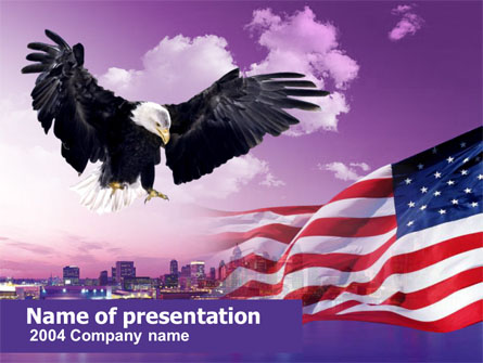American Eagle Presentation Template, Master Slide