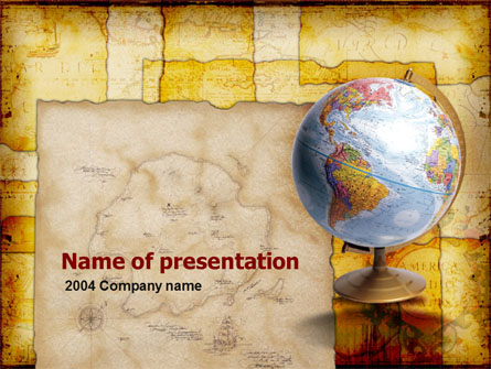 historical geography presentation template for powerpoint and, Modern powerpoint