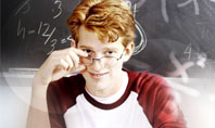 Student Of Mathematics Presentation Template