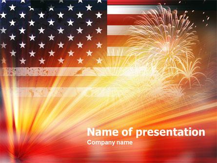 Remembrance Day Presentation Template, Master Slide