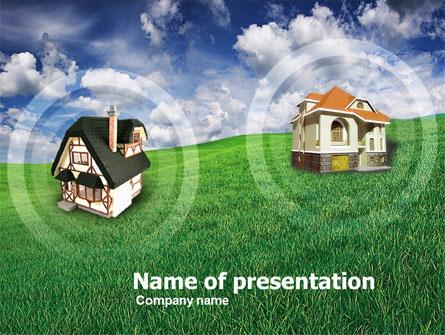 Country Cottages Presentation Template, Master Slide