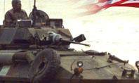 LAV-25 LAV-AD Blazer turret Presentation Template