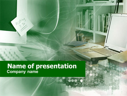 Computers Presentation Template For Powerpoint And Keynote Ppt Star