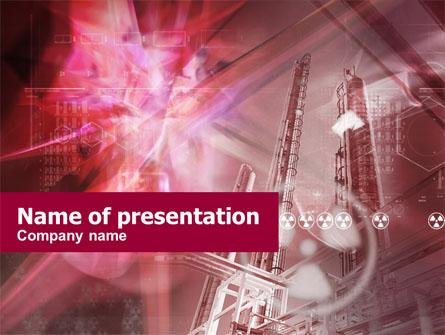 Nuclear energy free presentation template for powerpoint and keynote nuclear energy free presentation template master slide toneelgroepblik Choice Image