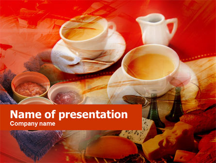 Cup Of Coffee Presentation Template, Master Slide