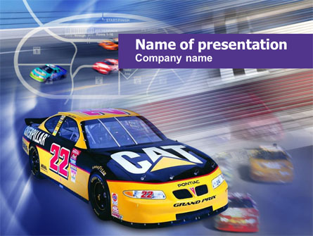 racing car presentation template for powerpoint and keynote ppt star