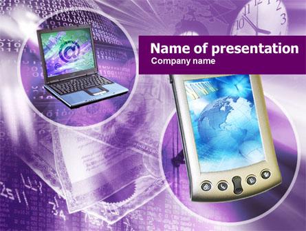 Internet Devices Presentation Template, Master Slide