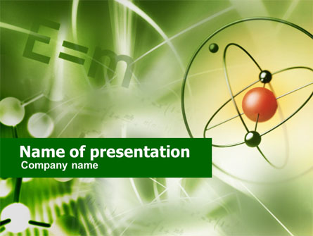 basic physics presentation template for powerpoint and keynote, Powerpoint