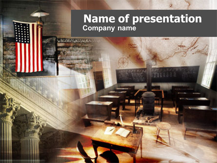 American History Lessons Presentation Template For Powerpoint And Keynote Ppt Star