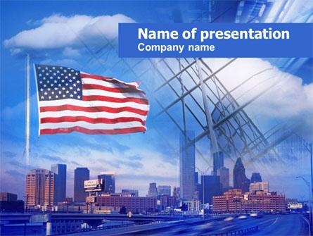 American City Presentation Template, Master Slide