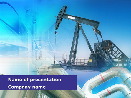 Oil industry presentation template for powerpoint and keynote oil industry presentation template master slide toneelgroepblik Gallery