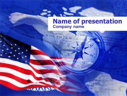 Columbus Day Presentation Template, Master Slide