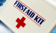 First Aid Kit Presentation Template