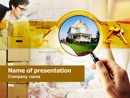 Real Property Presentation Template, Master Slide