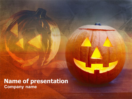 Halloween Presentation Template, Master Slide
