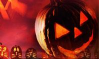 Stingy Jack And Jack O'Lantern Halloween Night Presentation Template