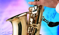 Jazz Saxophone Presentation Template
