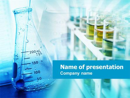 Medical Lab Presentation Template, Master Slide