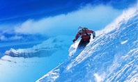 Ski Slope Presentation Template