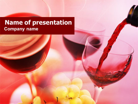 Wine tasting presentation template for powerpoint and keynote wine tasting presentation template master slide toneelgroepblik Image collections
