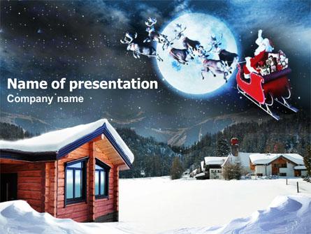 Christmas Eve Presentation Template, Master Slide