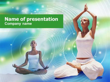 Modern Yoga Presentation Template Master Slide