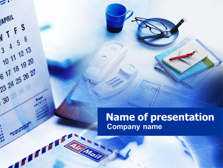 Business Essentials Presentation Template, Master Slide