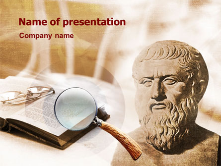 Greek philosophy presentation template for powerpoint and keynote greek philosophy presentation template master slide toneelgroepblik Images