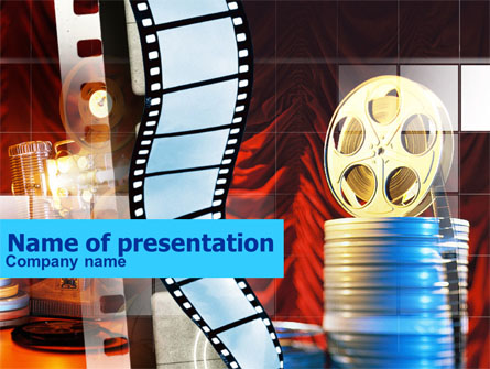 Movie Themed Powerpoint Template Mandegarfo