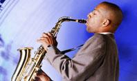 Saxophone Presentation Template