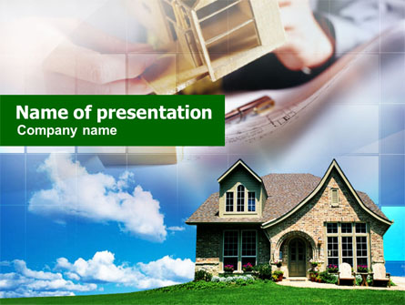 Cottage Presentation Template, Master Slide