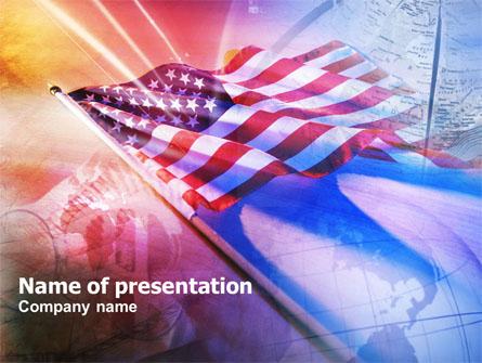 American Antiquity Presentation Template, Master Slide