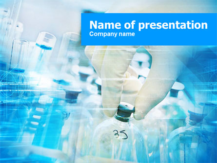 Pharmaceutical testing presentation template for powerpoint and.