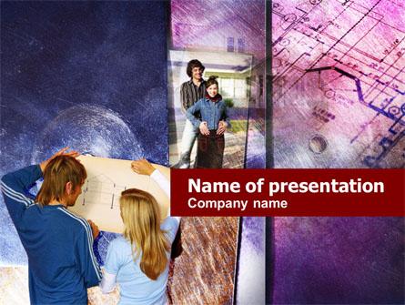 Home Re-planning Free Presentation Template, Master Slide