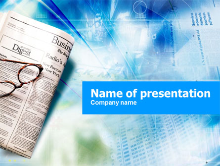 Newspaper Powerpoint Templates blueplaidnet – Newspaper Powerpoint Template
