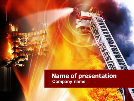 Firefighter Theme For Powerpoint Related Keywords Suggestions