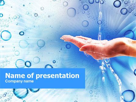 Tap Water Presentation Template For Powerpoint And Keynote  Ppt Star