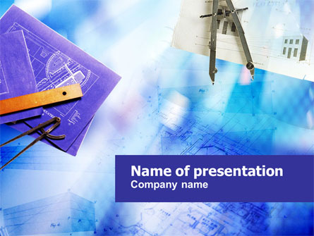 Construction Engineering Presentation Template, Master Slide
