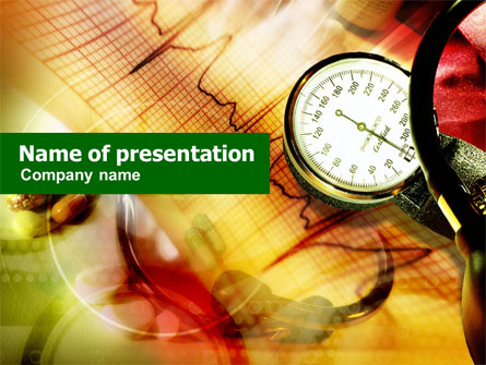 Blood pressure presentation template for powerpoint and keynote blood pressure presentation template master slide toneelgroepblik Choice Image