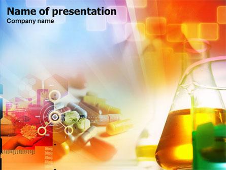 pharmacy tests presentation template master slide