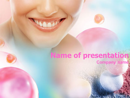 Smile Presentation Template, Master Slide