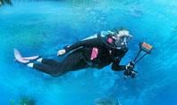 Scuba Diver Presentation Template