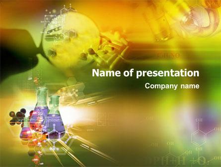 Templat Powerpoint Penelitian Kimia Organik Presentation Template