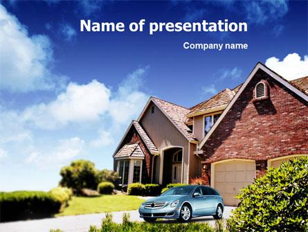 Suburban Cottage Presentation Template, Master Slide