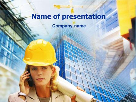 Architectural Supervision Presentation Template, Master Slide
