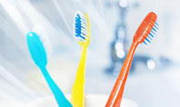 Toothbrushes in the Glass Presentation Template